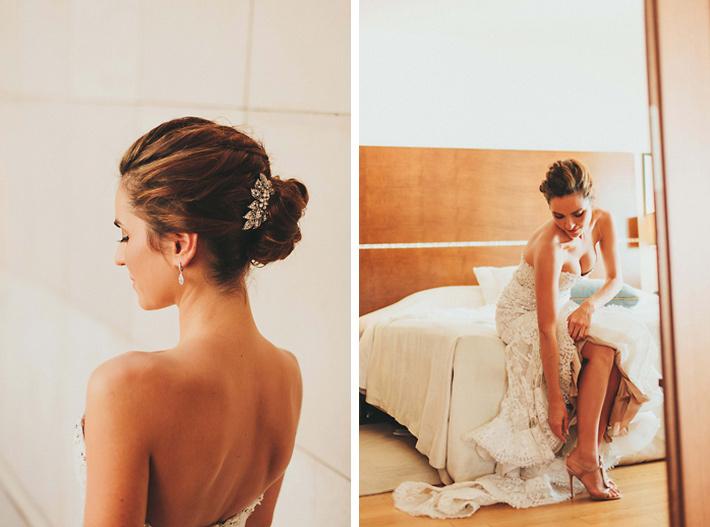 wedding hair dubrovnik
