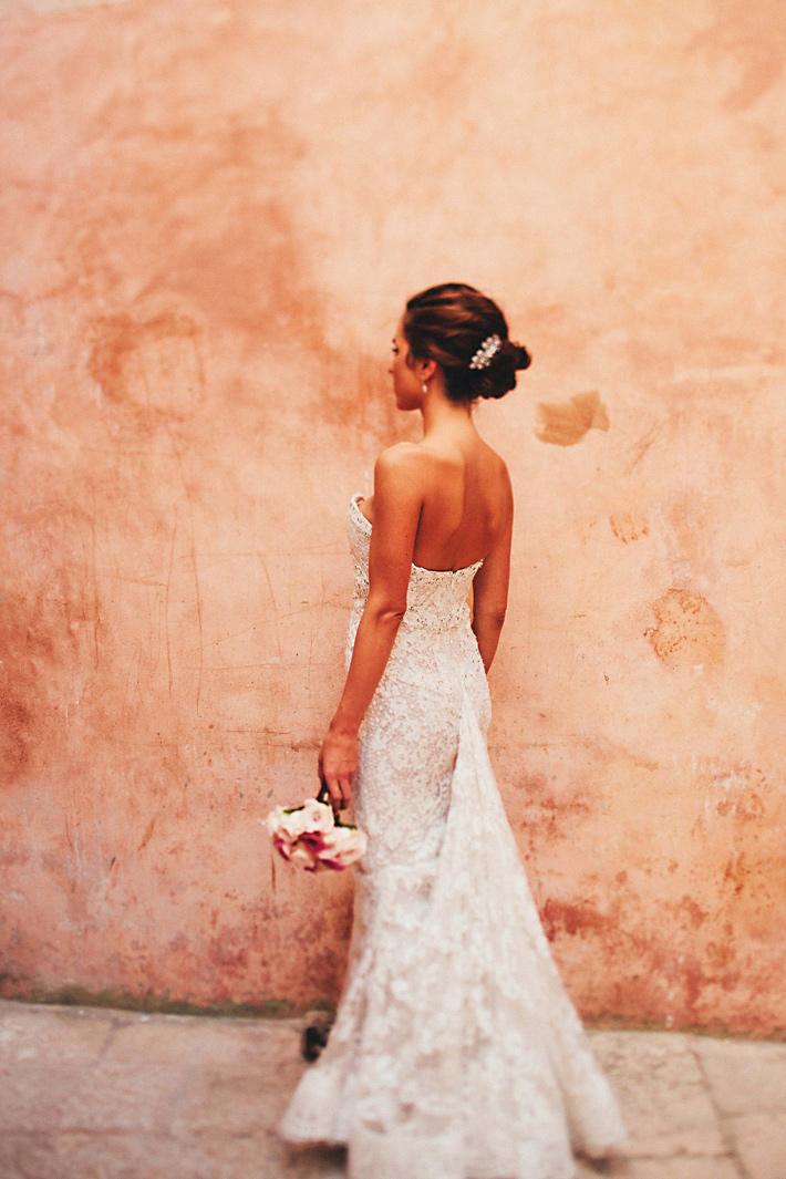 wedding bride dubrovnik