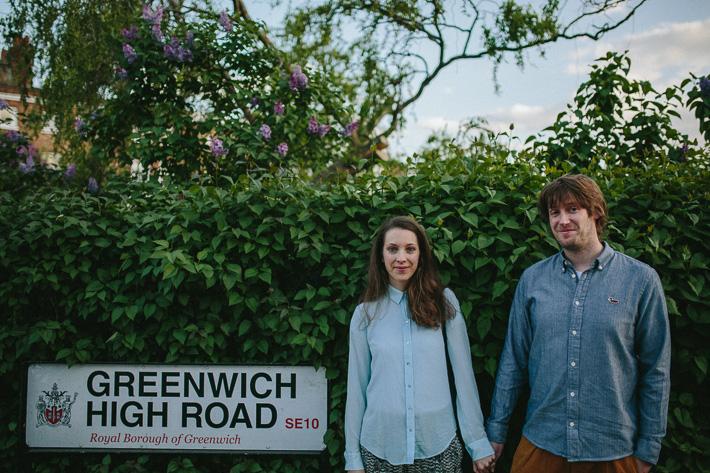 greenwich engagement photographer