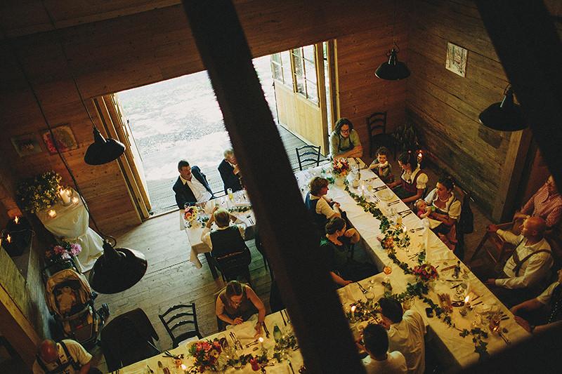 wedding dinner austria