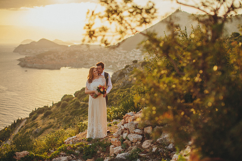 Dubrovnik wedding photography park Orsula