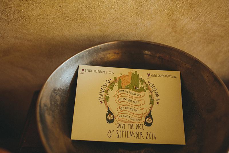 Sarteano Tuscany invitation