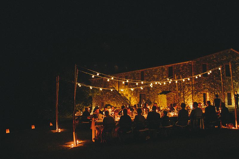 Villa Banditaccia wedding dinner09