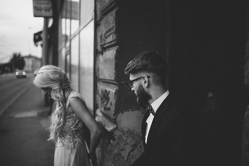 Beograd street wedding