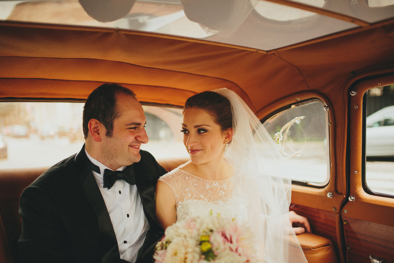 Paris rent a car wedding