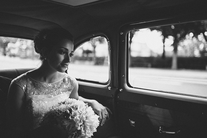 Paris wedding bride