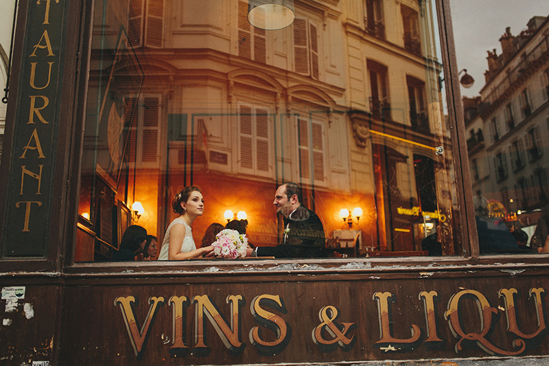 paris montmartre wedding photos