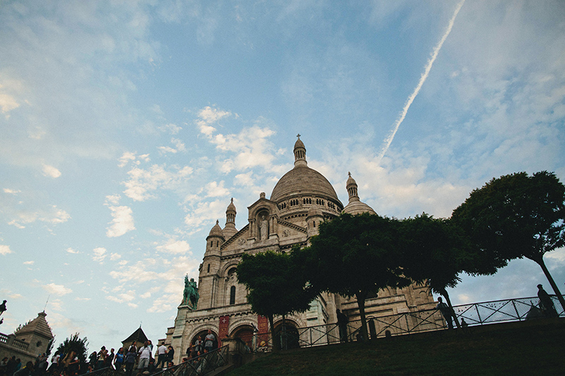 sacre coeur paris wedding