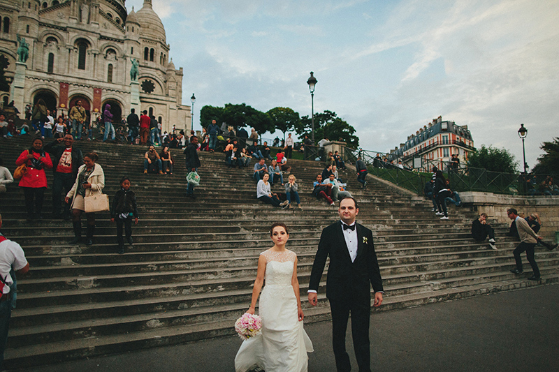 sacre coeur paris weddings