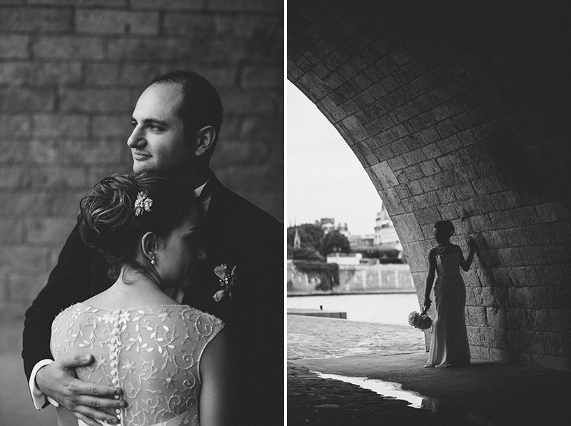 paris seine wedding