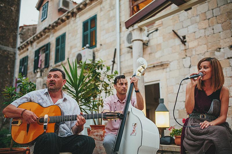 Gadjo Manouche band Dubrovnik