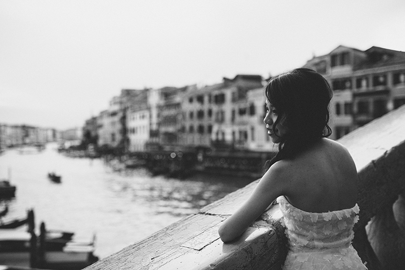 Venice photographer bride