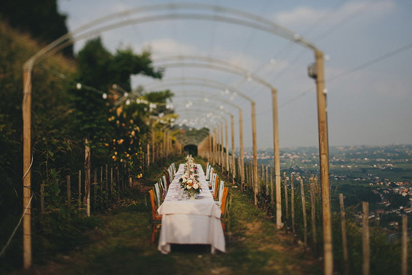 locanda la candola soligo treviso wedding dinner