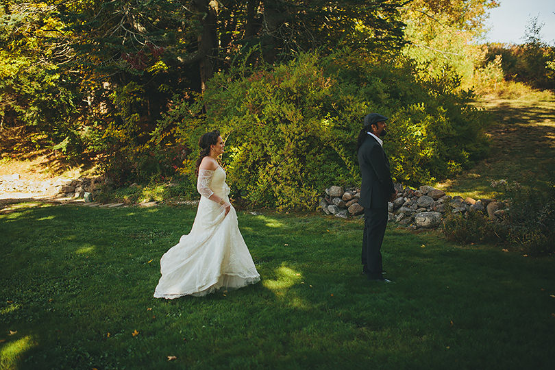 new hampshire first look wedding