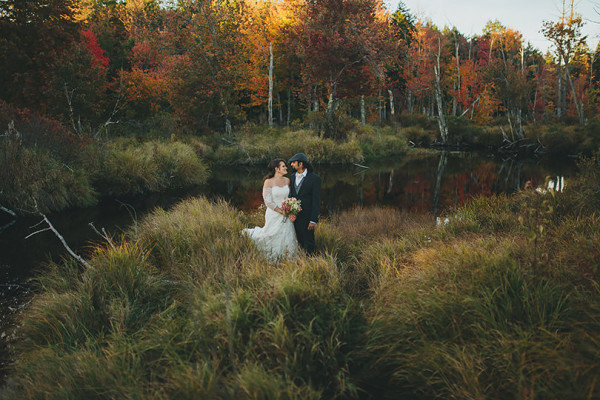 Lydia & Sandip | New Hampshire wedding