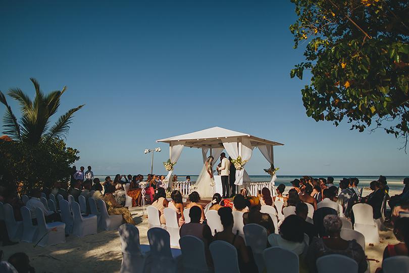 Melia Zanzibar wedding ceremony