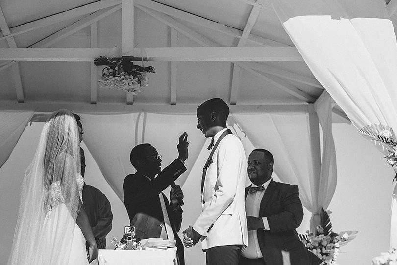 Zanzibar ring wedding