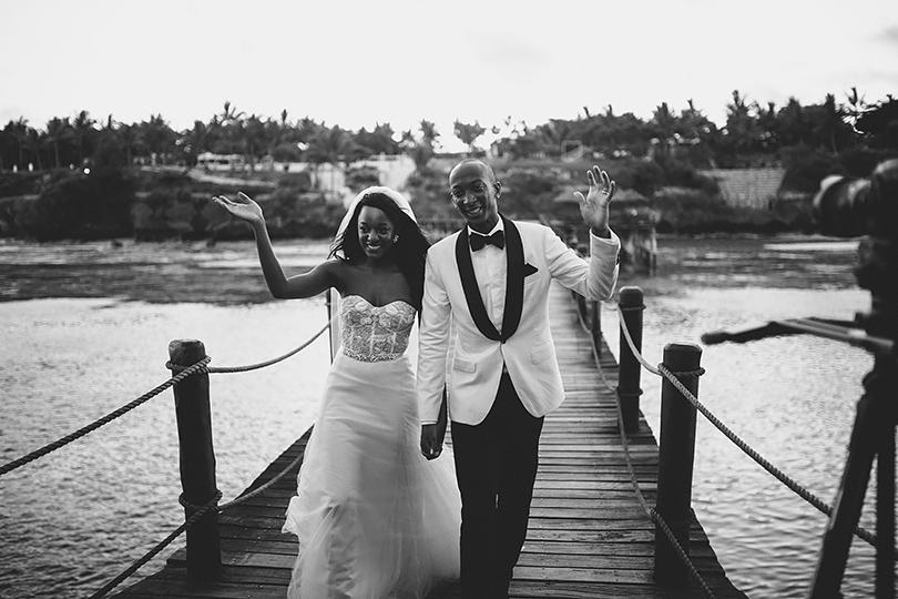 Melia wedding Zanzibar