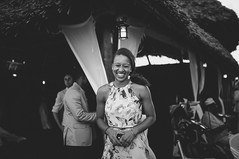 Zanzibar wedding reception