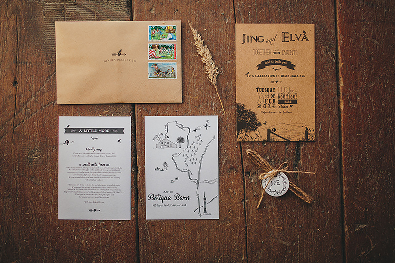 wedding stationery new zealand