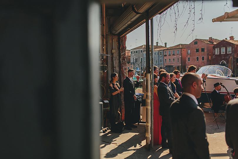 untypical wedding in Venice