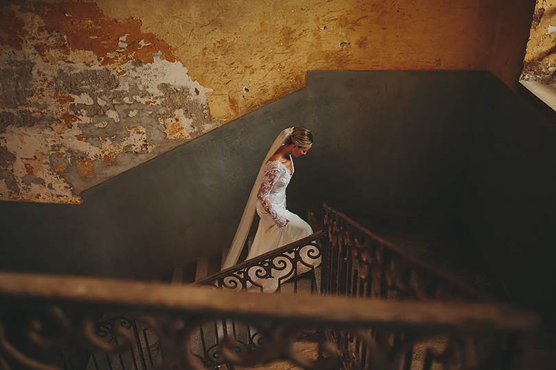 bride untypical wedding Venice