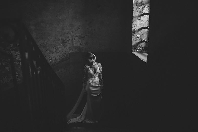 bride untypical wedding Venice photography