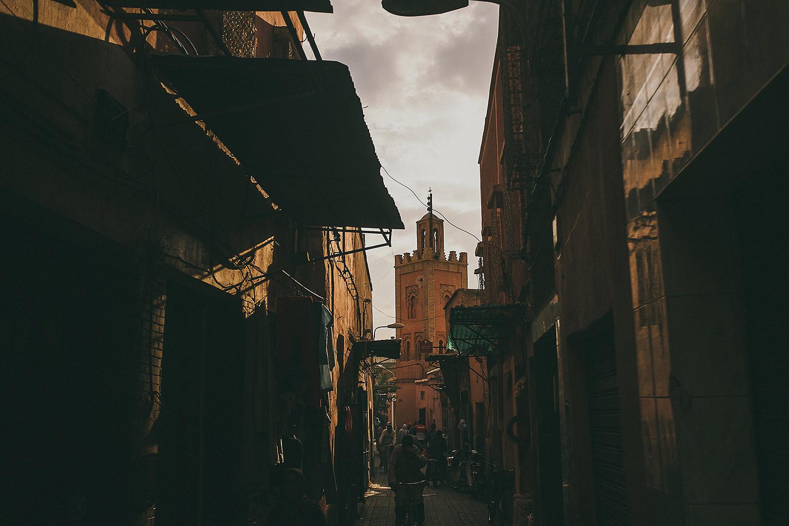 Marrakesh streets