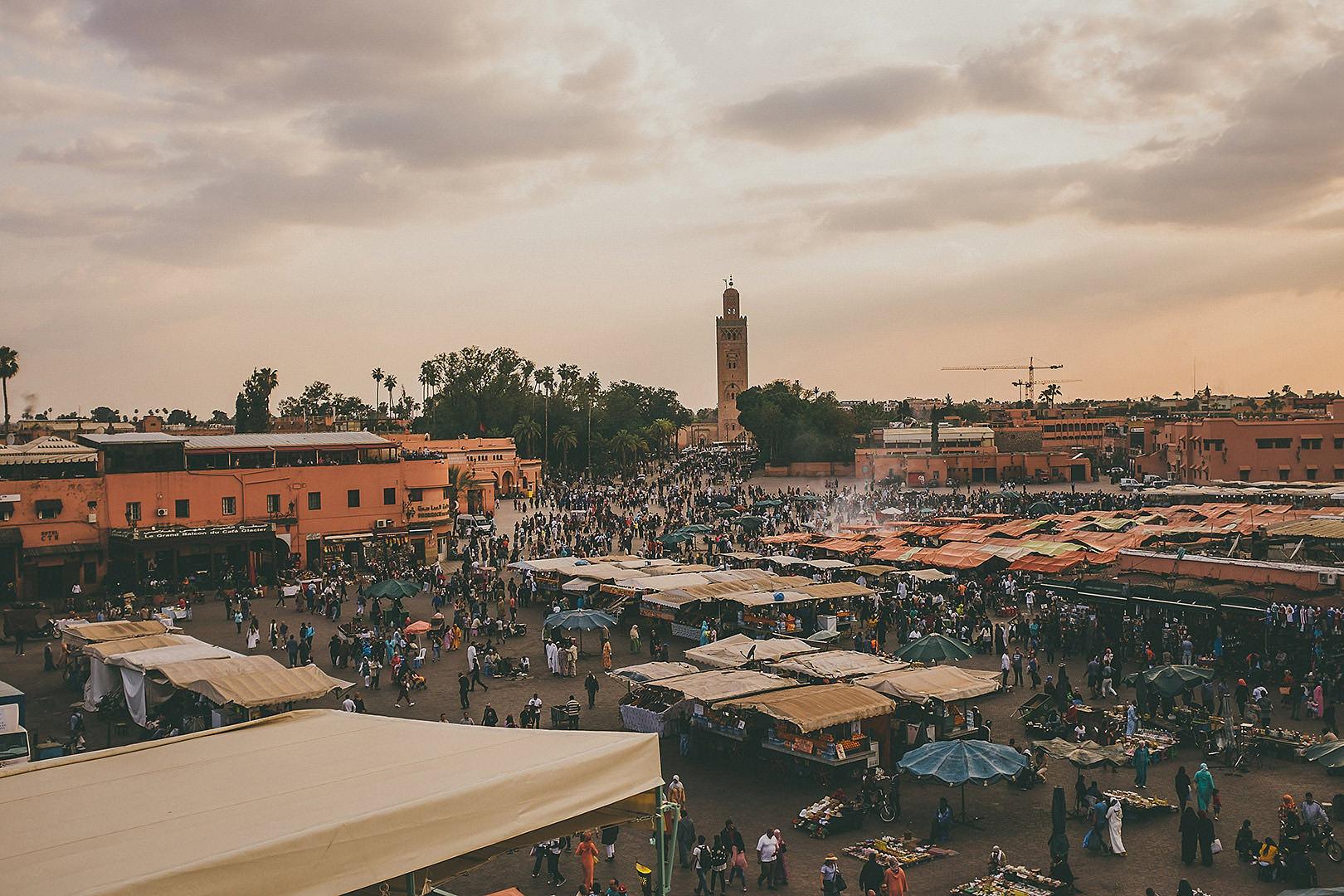 Jemaa el-Fnaa Marrakesh