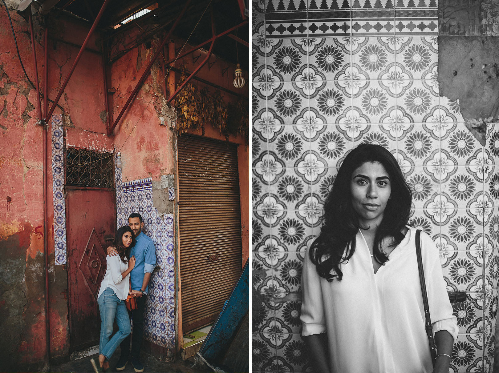 Marrakech engagement photographer