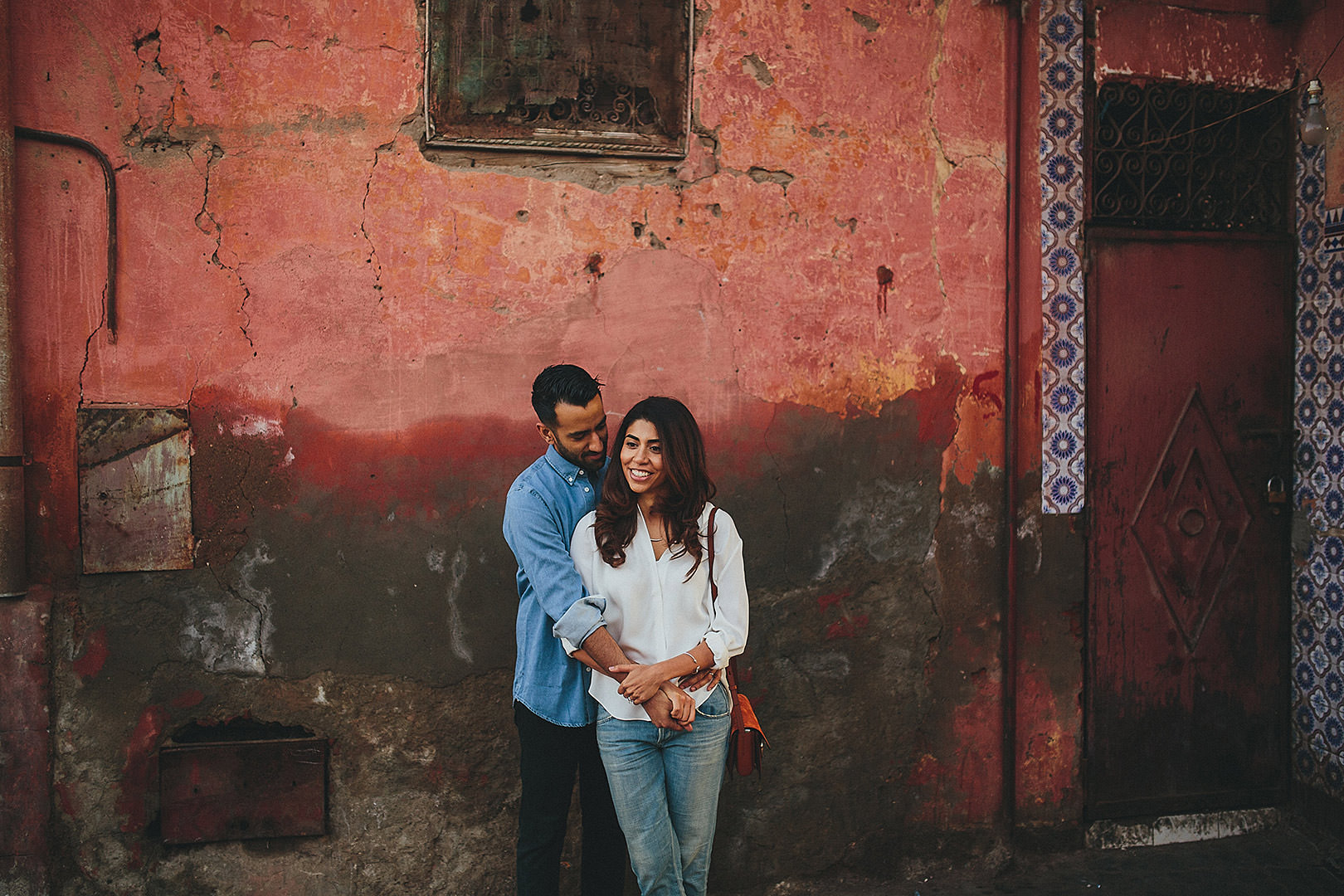 Marrakech engagement photos