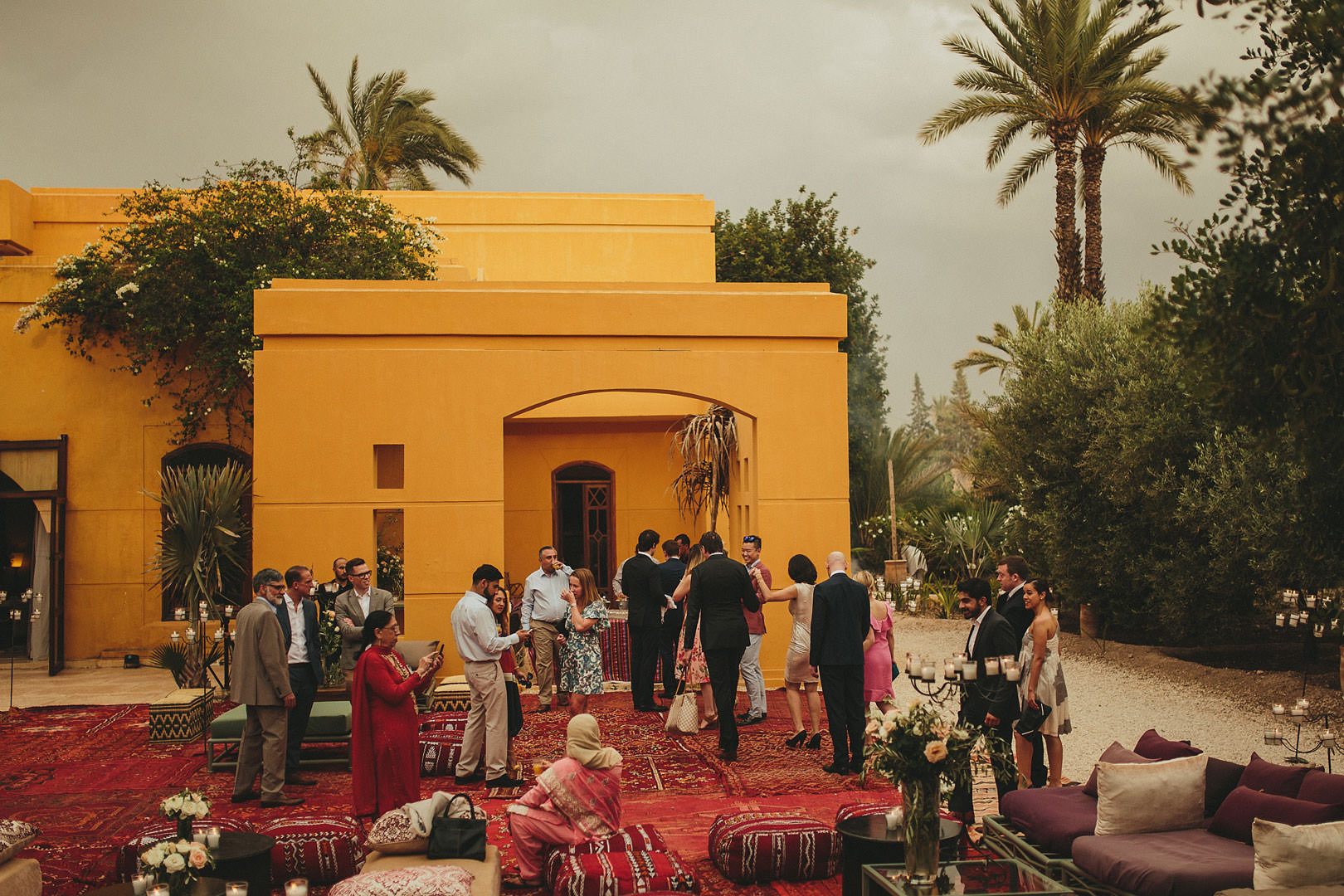 jane tasman Marrakech wedding reception