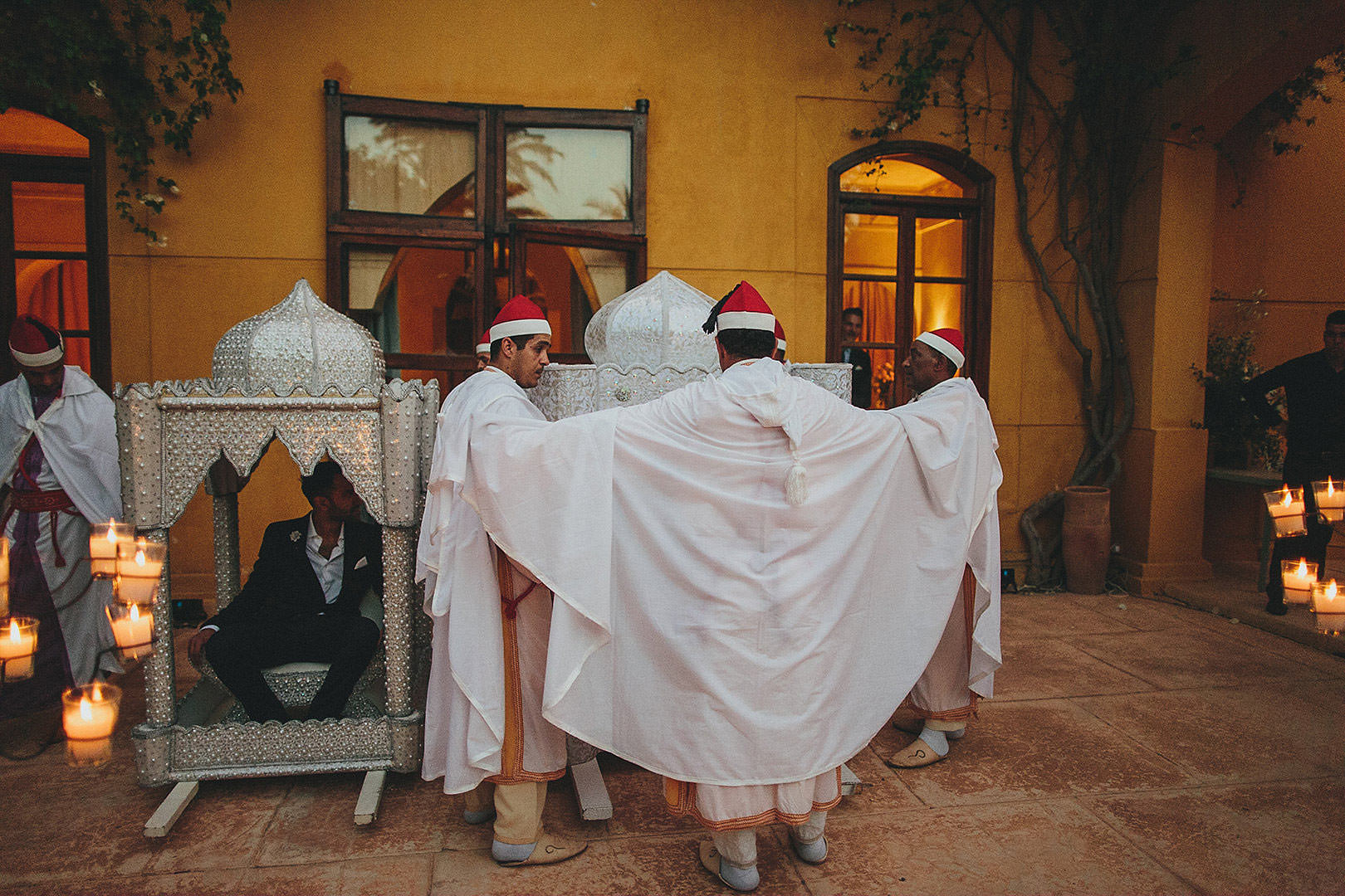 Marrakesh traditional wedding