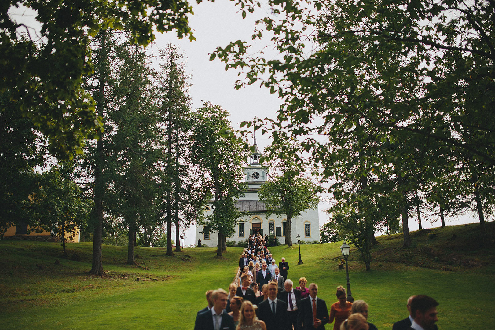 church wedding in finland