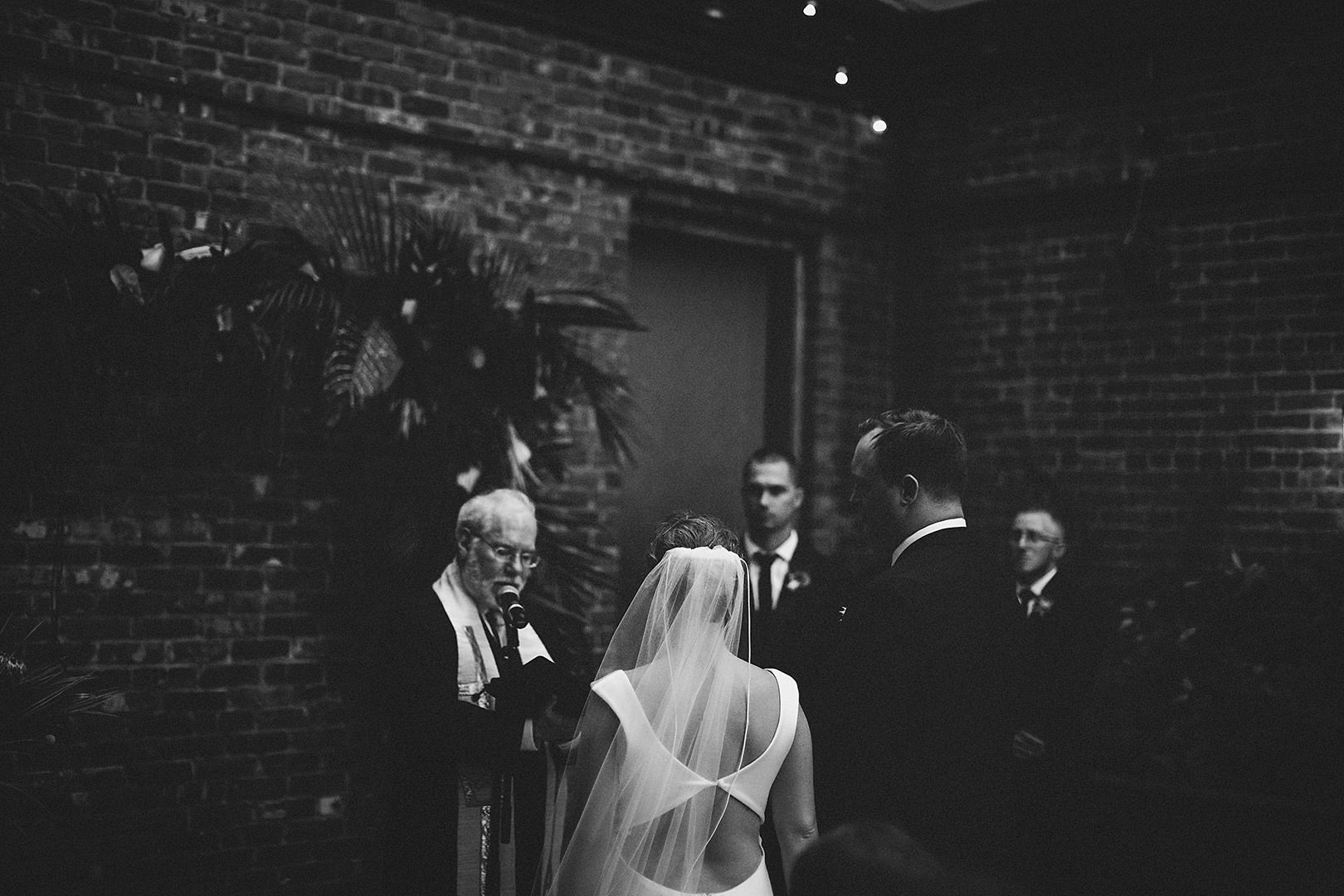 Ceremony in Wythe hotel