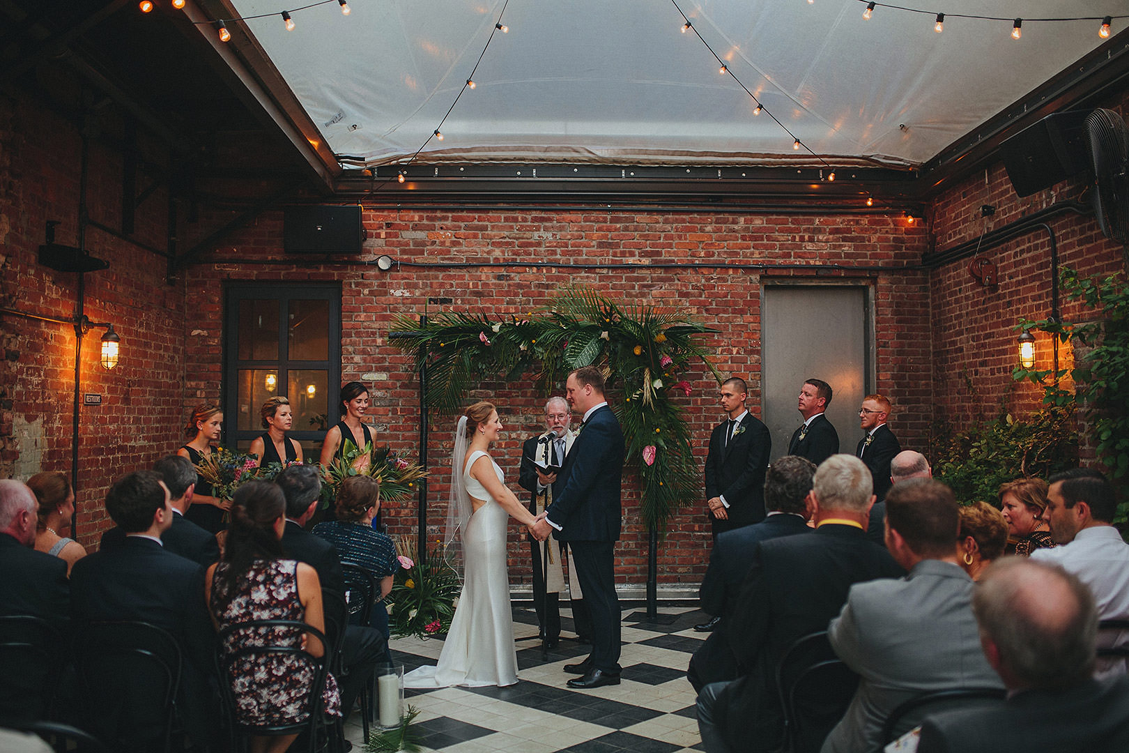wythe hotel wedding ceremony