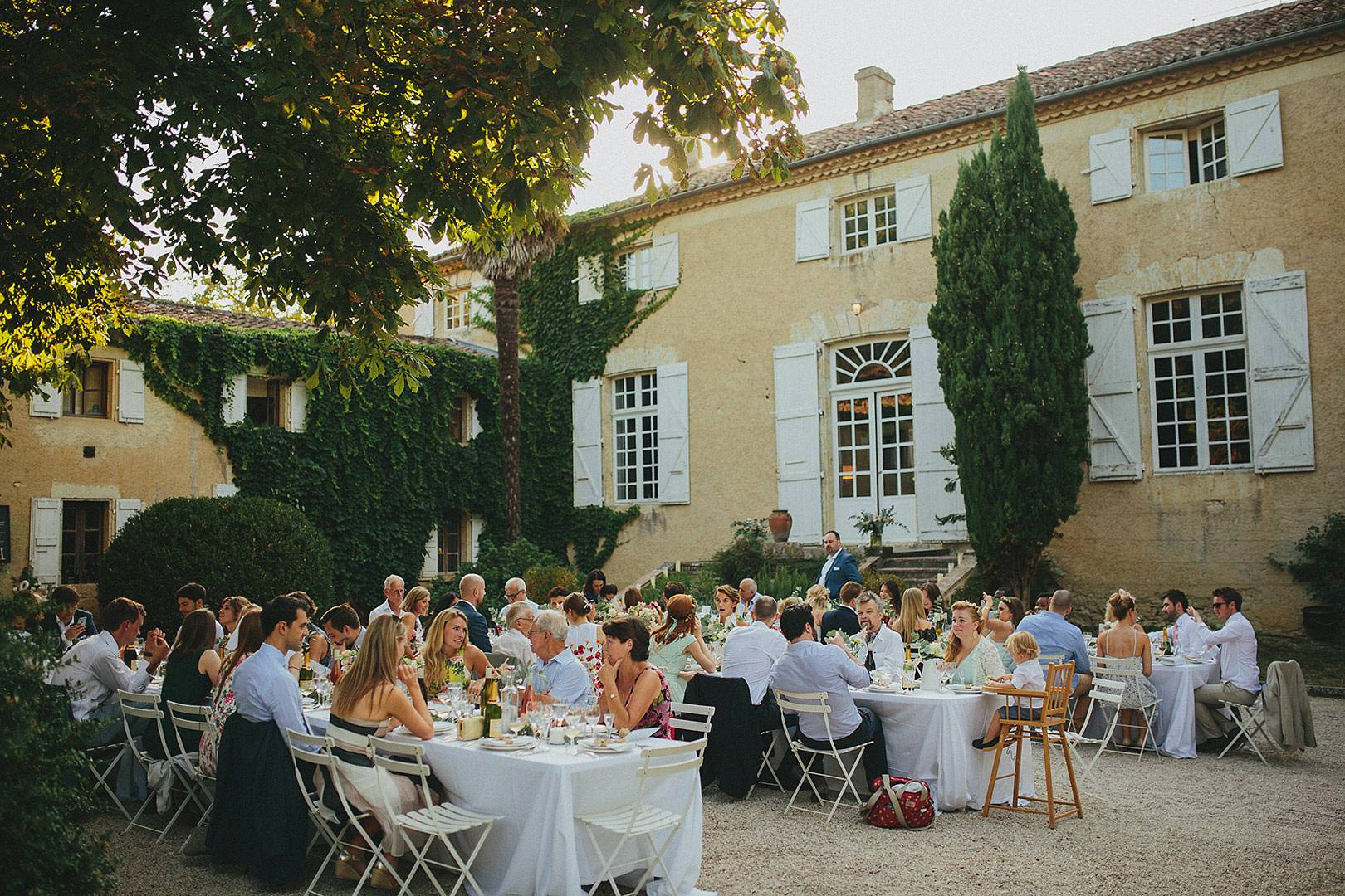 lartigolle wedding in france